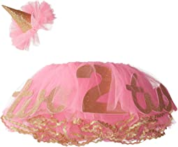 Glitter 2nd Birthday Tutu Set (Toddler)