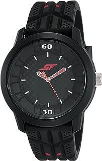 Fibre (SF) Economy Analog Black Dial Men's Watch-77065PP02