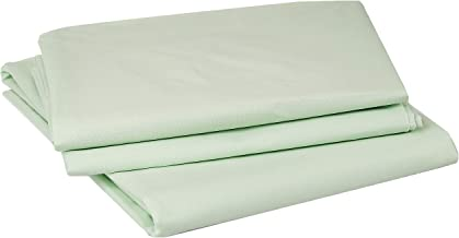 IBed Home Solid Bedsheets 3 Pieces Bedding Set - King size - light pastel green