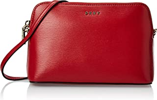 DKNY Bryant Dome Cross Body Bag- Sutton - Bright Red