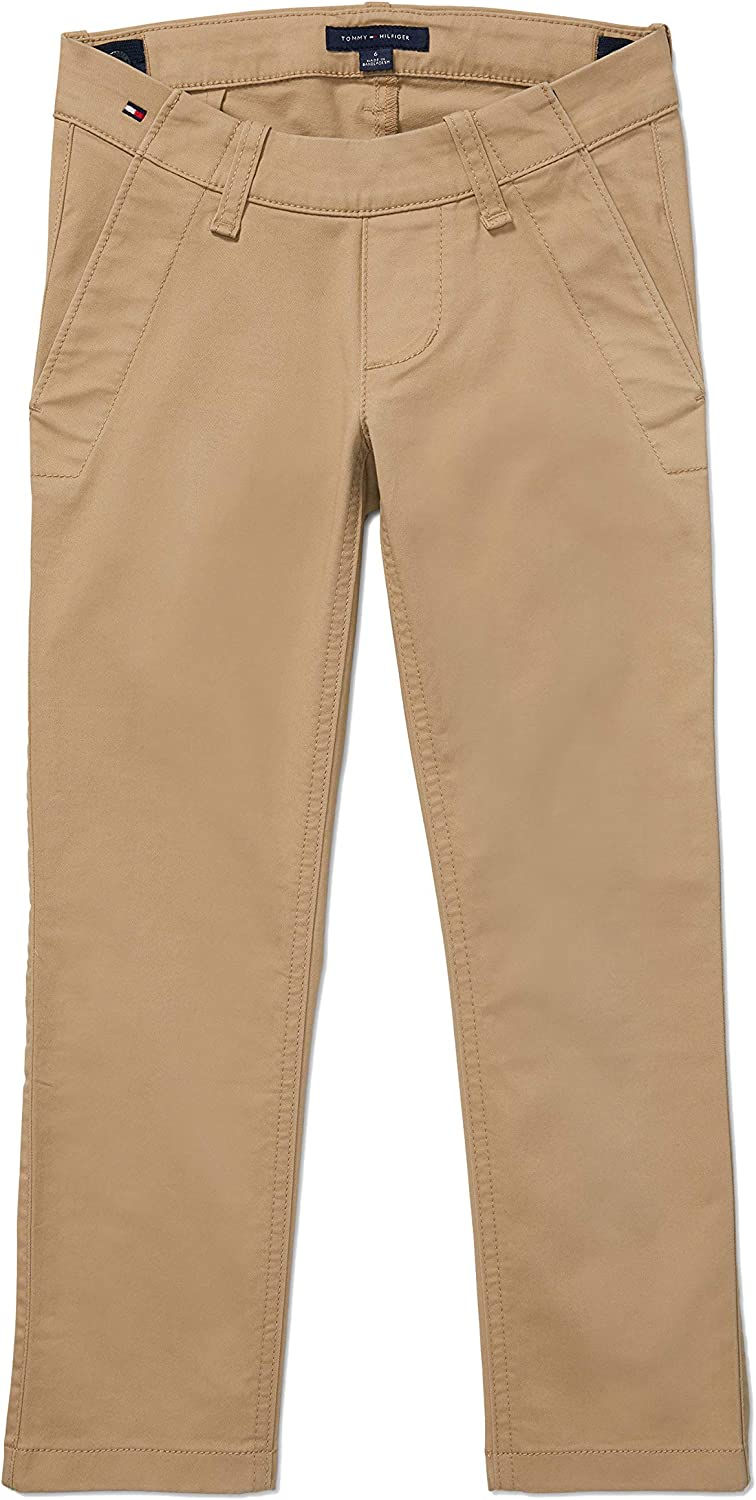 Tommy Hilfiger Boys' Adaptive Seated discount Ad with Stretch Pants San Diego Mall Chino