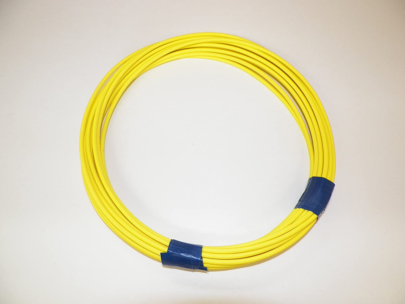 YELLOW Automotive GXL Copper Wire, 14 GA, AWG, GAUGE .116. High Heat, Resist Abrasions. For Truck, Motorcycle, RV. General Purpose. DEFFERENT LENGTHS AVAILABLE. (50 FOOT COIL)