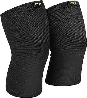 BesDio 膝サポーター スポーツ 痛み 男女左右兼用 ひざ 怪我防止 膝保護 通気性 伸縮性 3サイズ バンテリン 登山 アウトドア適用 S/M/L サイズ 2枚入り