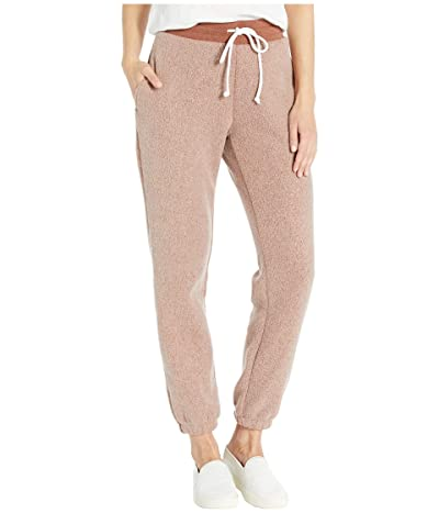 Alternative Classic Printed Eco-Teddy Jogger Pants (Eco True Nutmeg Brown) Women