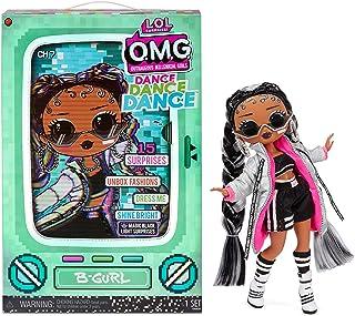 Poupée Mannequin LOL Surprise OMG Dance Dance Dance B-Gurl avec 15 Surprises, vêtements de créateur, Lumière noire Magique...