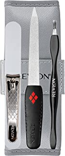 The Revlon Manicure To Go 4-Piece Kit with Travel Pouch