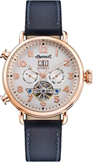 Muse Mens Analog Automatic Watch with Leather bracelet I09501
