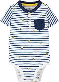 baby-boys Pocket Henley Bodysuit
