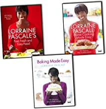 Lorraine Pascale's collection 3 cook book set. (Fast, Fresh and Easy Food, Home Cooking Made Easy, Baking Made Easy)