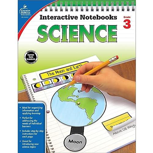 Carson Dellosa | Science Interactive Notebook | 3rd Grade, 96pgs (Interactive Notebooks)