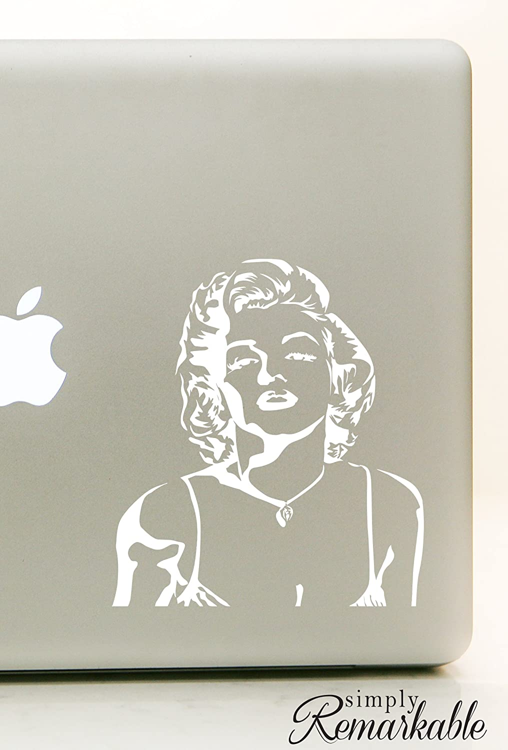 Macbook sticker decal car truck sticker cute puppy dog bumper sticker decal I/'m selfish impatient and a little insecure Marilyn Monroe