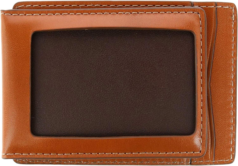 Trafalgar Men's Coleton RFID Magnetic Front Pocket Wallet