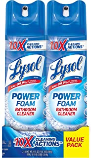 Lysol Bathroom Cleaner Spray, Island Breeze, 48oz (2X24oz)