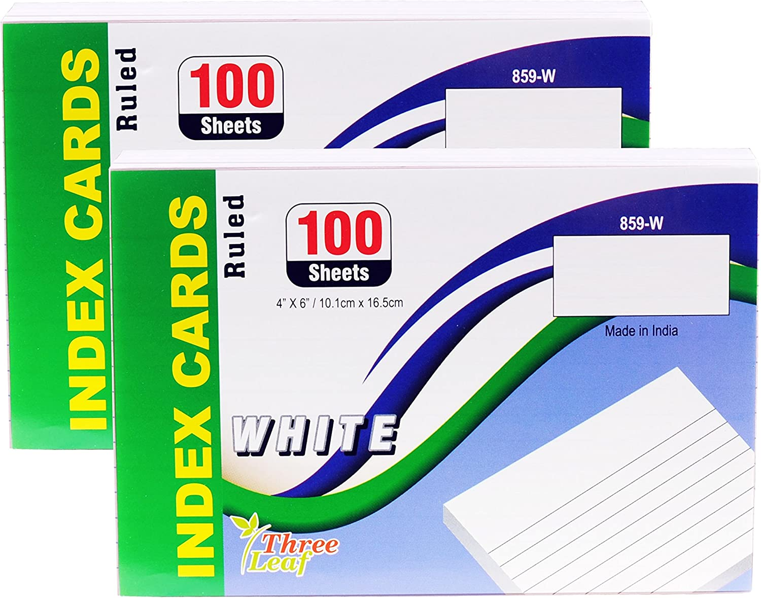 low-pricing Index Cards 4x6-Inch Ruled White per Package 100-Count from High quality