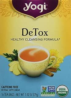 Yogi Organic Detox Tea, 16 ct