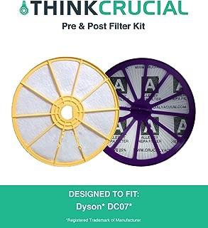 Think Crucial Dyson DC07 Washable Lifetime Pre & Post Motor Filter, DYR-1810
