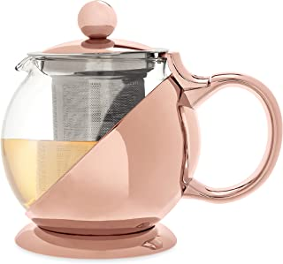 Pinky Up 5046 Teapot and Infuser, One Size, Gold