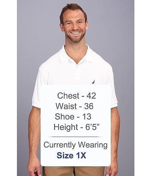 Tall ancla amp; brillante amp; amp; Blanco alta Nautica con de cubierta sólida Camisa Big Big amp; qW4X4cUt7