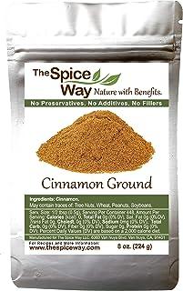 The Spice Way Cinnamon Ground - | 8 oz | a pure powder