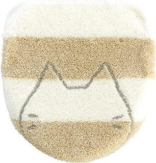 オカ(OKA) ふたカバー ホワイト ドレニモタイプ(洗浄・暖房・O型・U型兼用) うちねこ (ねこ かわいい)