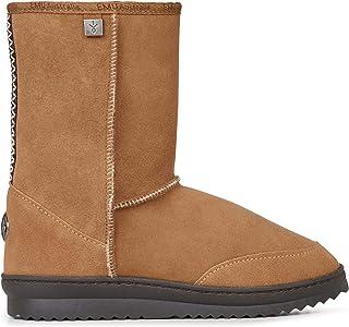 EMU Australia Platinum Outback Lo Mens Real Sheepskin Boots Australian Made