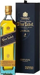 Johnnie Walker Blue Label Scotch mit Geschenkverpackung Whisky 1 x 0.2 l