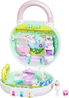 Shopkins Lil' Secrets Playset - Collectable Mini Playset with Secret with Shoppie & Shopkin Toy Inside- Lovely Hearts Garden Party