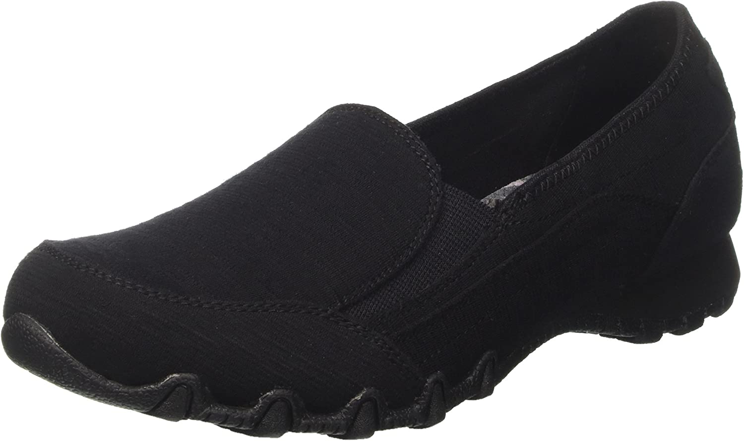 Skechers Womens Bikers - Lounger Slip-On Loafer