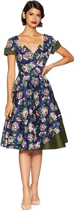 1950s Style Slauson Swing Dress