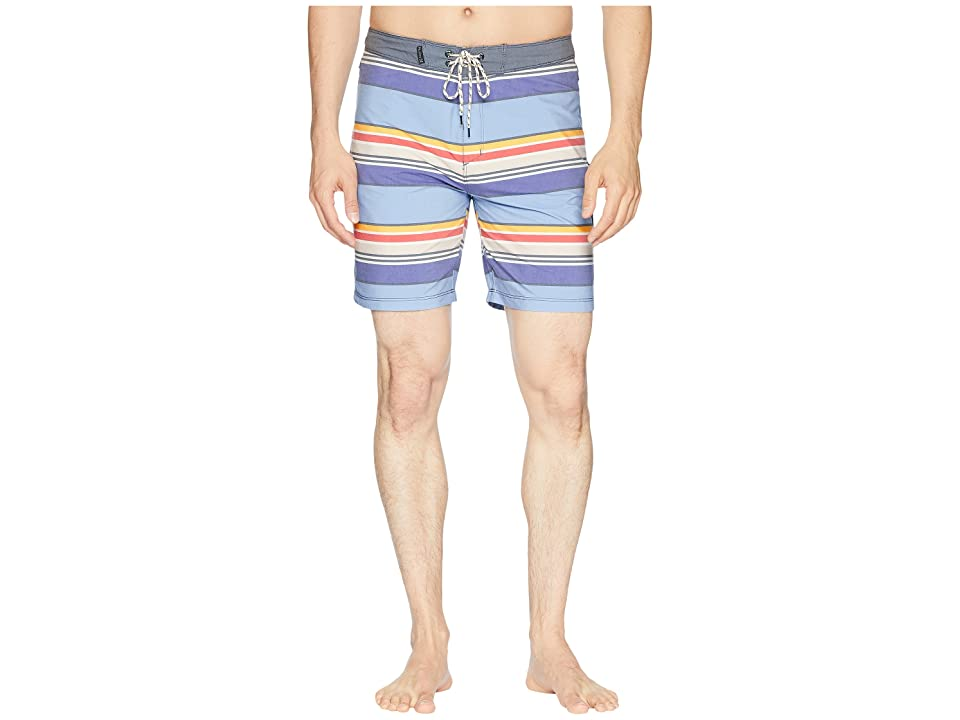 Hurley Pendleton Yosemite Beachside 18 Boardshorts (Obsidian) Men