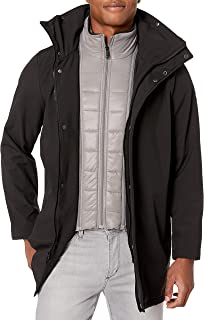 Kenneth Cole New York mens Transitional Jacket With Bib