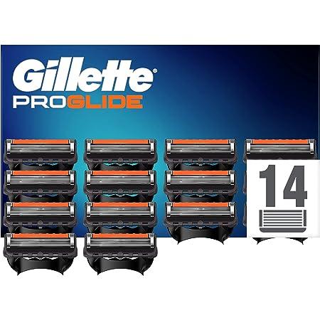 Gillette ProGlide Cuchillas de Afeitar Hombre con Tecnología FlexBall, Paquete de 14 Cuchillas de Recambio [empaque puede variar]