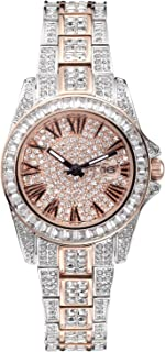 Gift for Her ♥ Crystal Watches for Women, Womens Watches Diamonds, Japanese Quarts