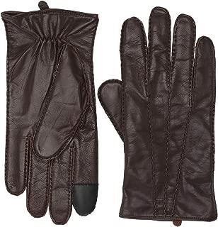 Frye Goatskin Extended Three Point Gloves Mahogany LG