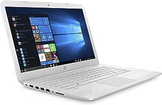 HP Stream 14-cb006na 14 英寸笔记本电脑 - (Intel Celeron N3060、4 GB RAM、32 GB eMMC、Office 365 和 1 TB OneDrive 云存储,包含 1 年订购,Windows 10 家庭)