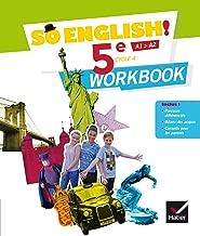 So English! - Anglais 5e Éd. 2017 - Workbook