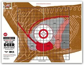 paper deer targets