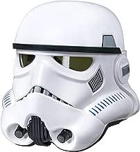 black stormtrooper helmet