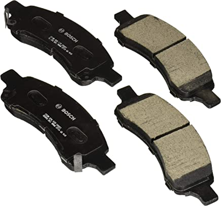 Bosch BC1169A QuietCast Premium Ceramic Disc Brake Pad Set For 2008-2017 Buick Enclave; 2009-2017 Chevrolet Traverse; 2007-2016 GMC Acadia; 2007-2010 Saturn Outlook; Front