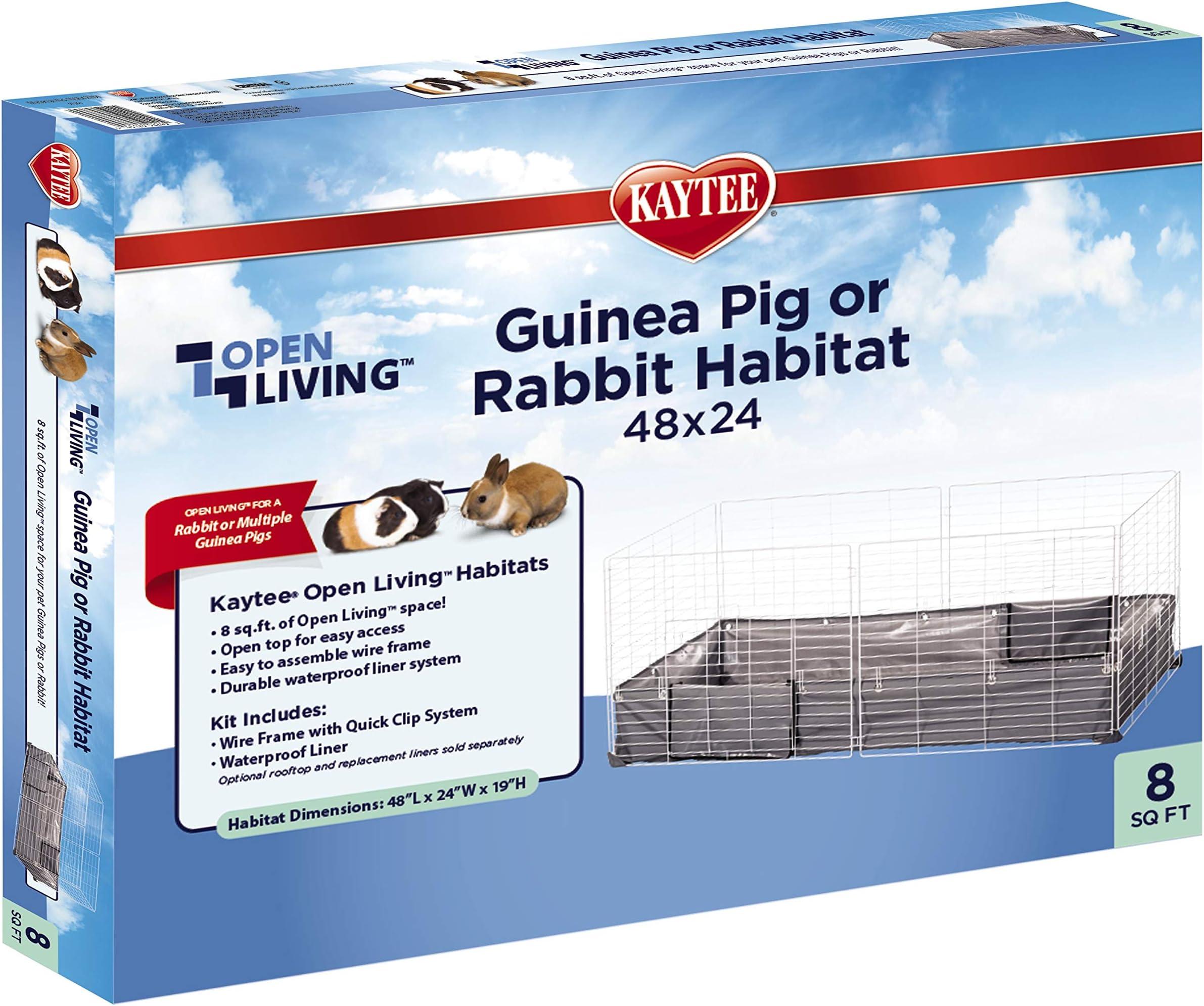 """Kaytee Open Living Habitat 48"""" x 24"""