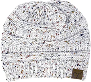Confetti Knit Beanie - Thick Soft Warm Winter Hat - Unisex