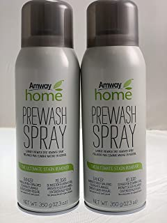 Amway Legacy of Clean Prewash Spray Canister 12.3oz New 2 Pack(12.3 Oz)