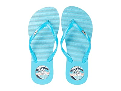 Roxy Kids Viva Stamp II (Little Kid/Big Kid) (Baha Blue) Girl