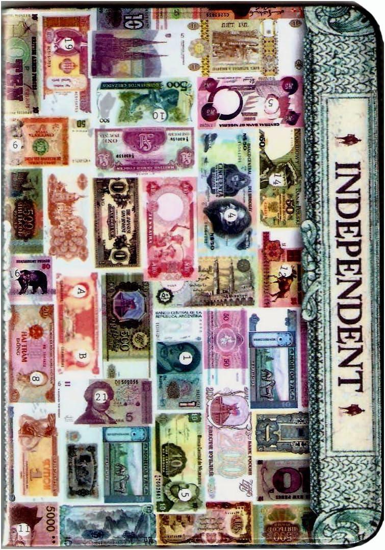 Currency International Bills gift Money Holder Cover Sales $$ Passport