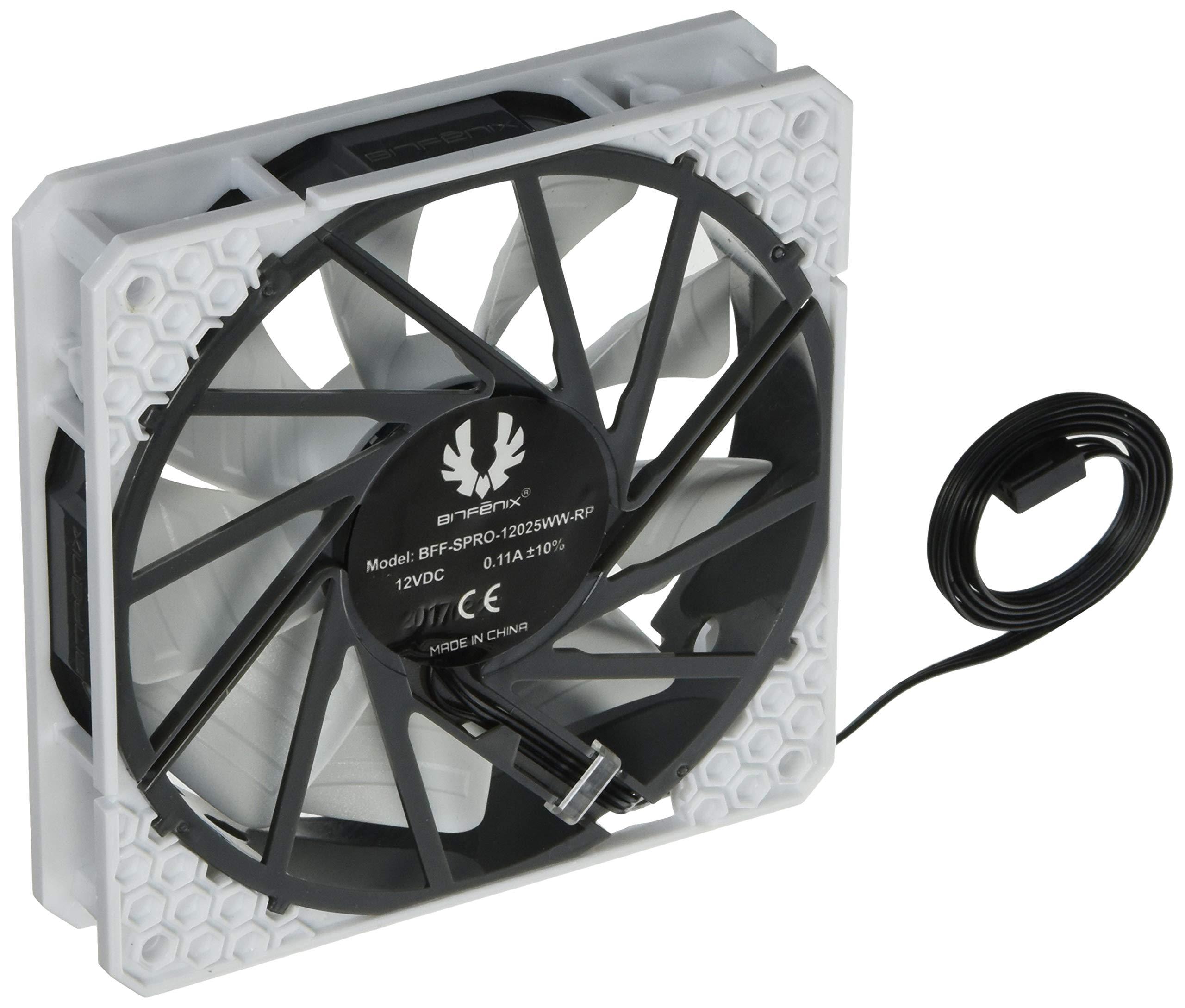 BitFenix Spectre Pro All White 120mm Carcasa del Ordenador ...