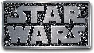Pewter Belt Buckle Cartoon Star Wars Logo CA-052