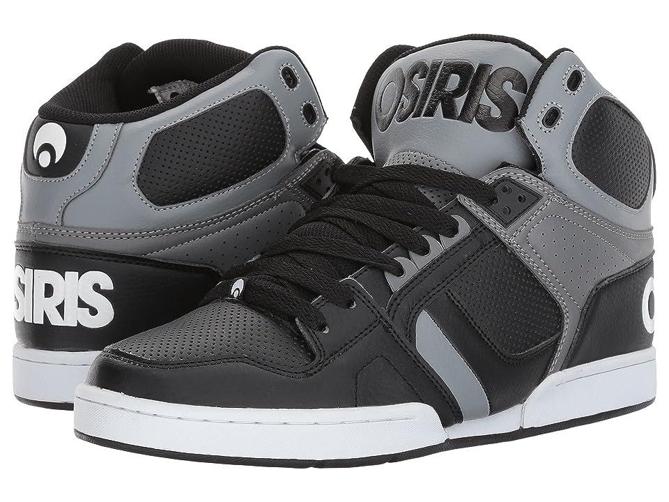 Osiris NYC83 (Black/Grey/Grey) Men