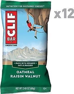 CLIF BAR – Energy Bars – Oatmeal Raisin Walnut – (2.4 Ounce Protein..