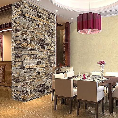 3d Wallpaper For Living Room Amazon Com