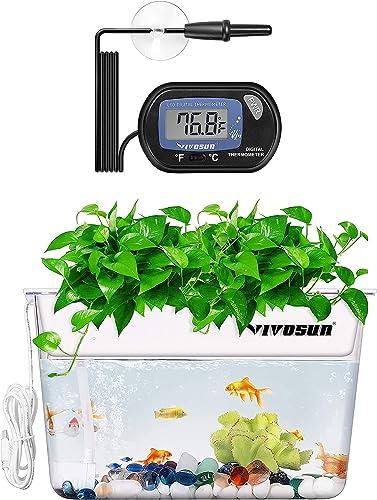 new arrival VIVOSUN 1 Pack LCD Digital Aquarium Thermometer, Aquaponic high quality Fish Tank Fish wholesale and Plant online